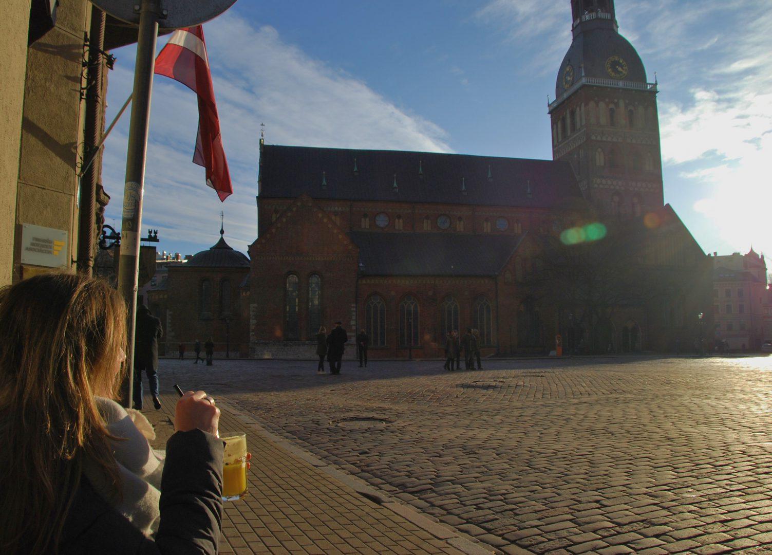 Riga , plein dom